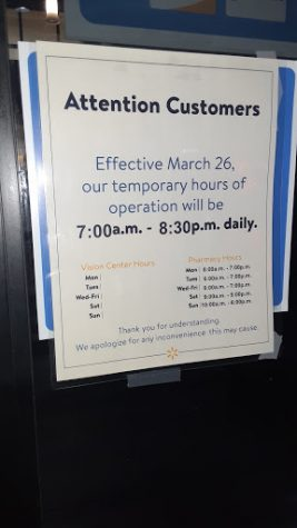 This is the new normal at Walmart. They have to close early because at night the virus goes into crazy mode!