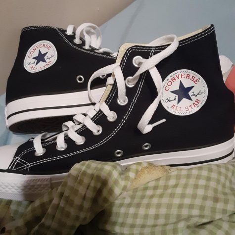Ernie will probably like the new Chuck Taylor high top sneakers.